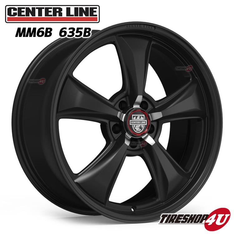 MM6 20x9.0J センターラインX:サテンブラック 5/114.3 5/115 5/120 Center Line Alloy Wheels モダンマッスル Modern Muscle Series (フロント用)(1本価格)