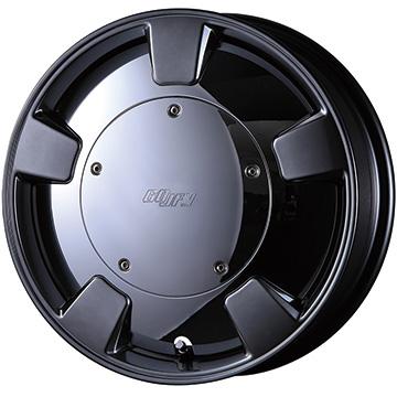 15インチ クリムソン GOOFY SPLITTER (グーフィー スプリッター) 15×5.0J ET45 ガンメタリック マッドスター RADIAL A/T 175/65R15(ホワイトレター) 新品タイヤホイール4本セット価格 クロスビー XBEE