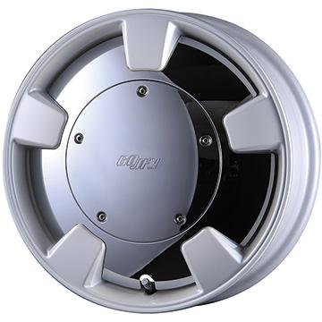 15インチ クリムソン GOOFY SPLITTER (グーフィー スプリッター) 15×5.0J ET45 パールホワイト マッドスター RADIAL A/T 175/65R15(ホワイトレター) 新品タイヤホイール4本セット価格 クロスビー XBEE