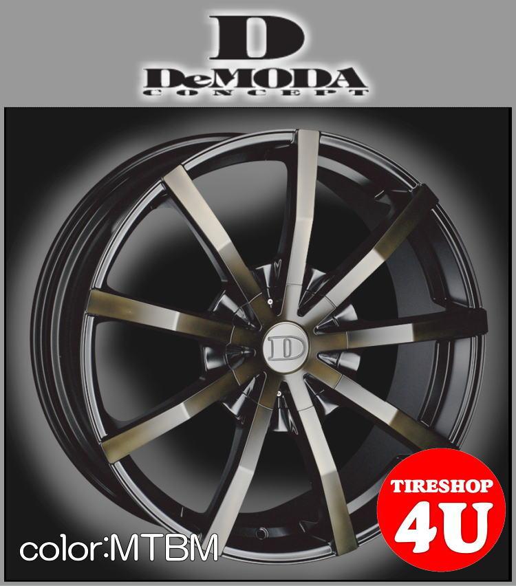 22インチDeMODA SENECA(ディモーダ セネカ) フォード エクスプローラー(HK) 22×9.5J 5/114.3 ET35 マットチタンニウムブラックマシン(MTBM)265/40R22 ※当社指定輸入タイヤ新品タイヤホイール4本セット価格 JWL規格適合品