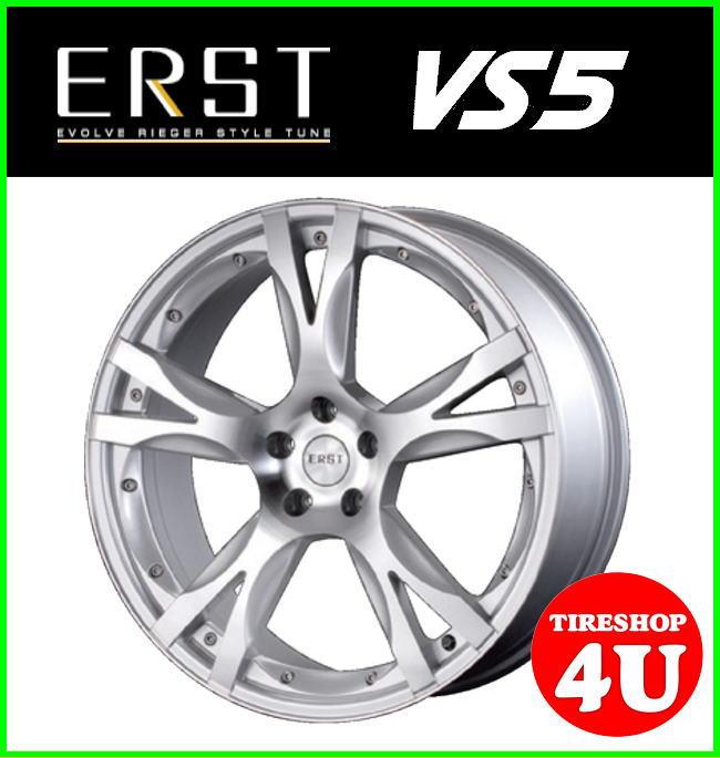 20インチERST VS5 20×8.5J 5/108 +46シルバーポリッシュ ミシュラン ラティチュードスポーツ 245/45R20 ランドローバー イヴォーグ 鋳造 新品タイヤアルミホイール4本セット価格 エアスト ハブリング付属
