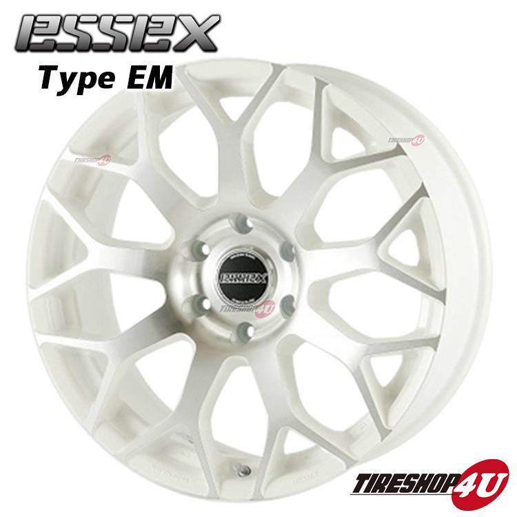 17インチホイール単品ESSEX-EM 17×7.0J 6/139.7 +43(キャラバン用) シルバーポリッシュ 新品アルミホイール1本価格エセックス