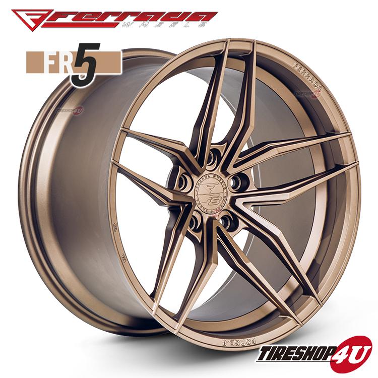 20インチ Ferrada wheels Forge-8 FR5 20×11.5JPCD:5/112・5/114.3・5/120・5/130 color:マットブロンズ 新品アルミホイール単品1本価格 フェラーダホイールズ コンケーブ