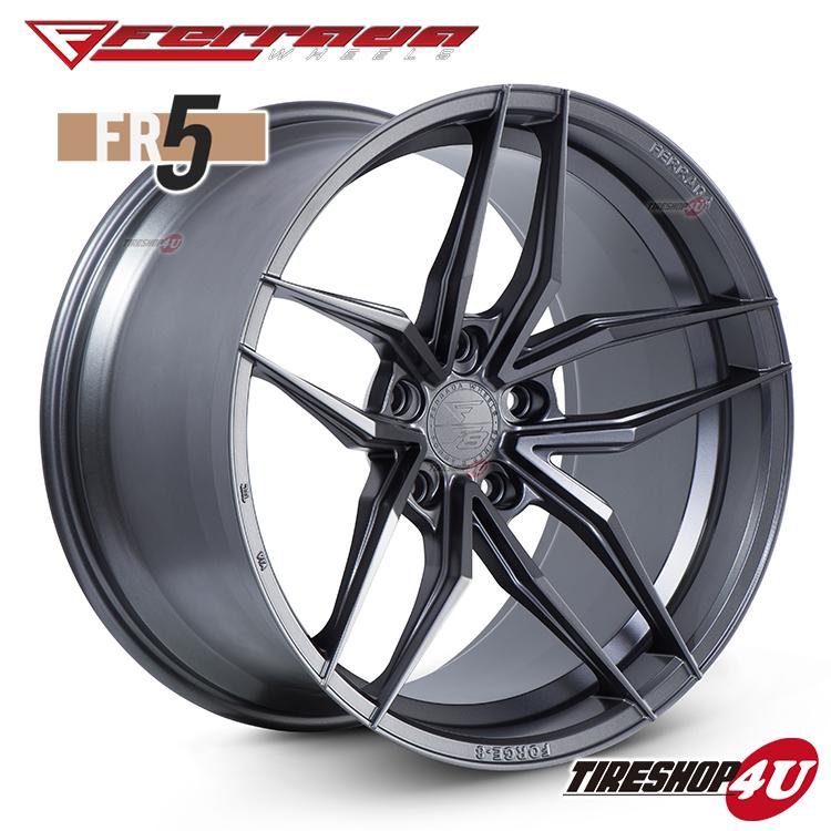 20インチ Ferrada wheels Forge-8 FR5 20×10.0JPCD:5/112・5/114.3・5/120・5/130 color:マットグラファイト 新品アルミホイール単品1本価格 フェラーダホイールズ コンケーブ
