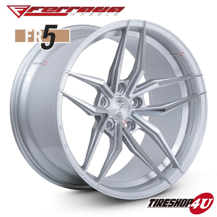 20インチ Ferrada wheels Forge-8 FR5 20×11.5JPCD:5/112・5/114.3・5/120・5/130 color:マシンシルバー 新品アルミホイール単品1本価格 フェラーダホイールズ コンケーブ