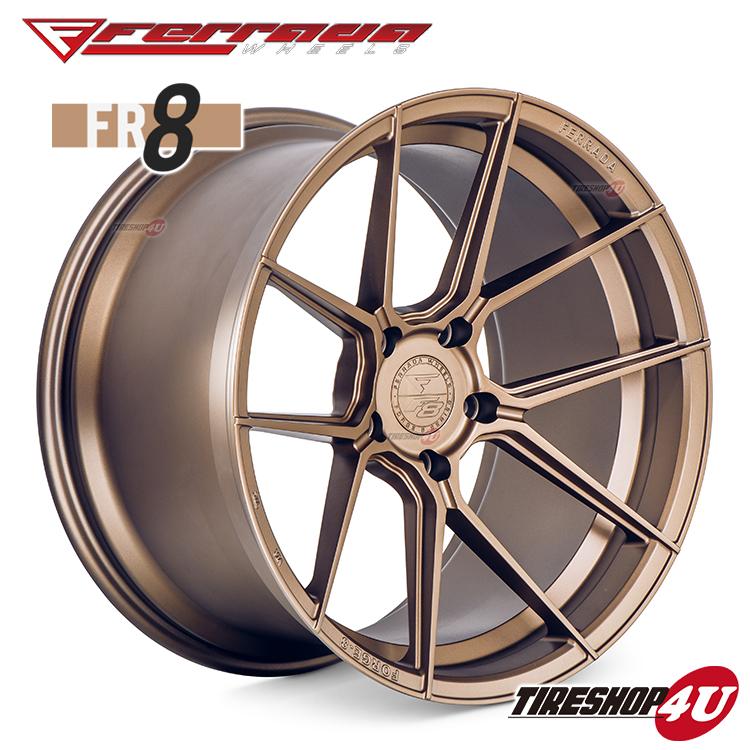 20インチ Ferrada wheels Forge-8 FR8 20×10.0JPCD:5/112・5/114.3・5/120・5/130 color:マットブロンズ 新品アルミホイール単品1本価格 フェラーダホイールズ コンケーブ