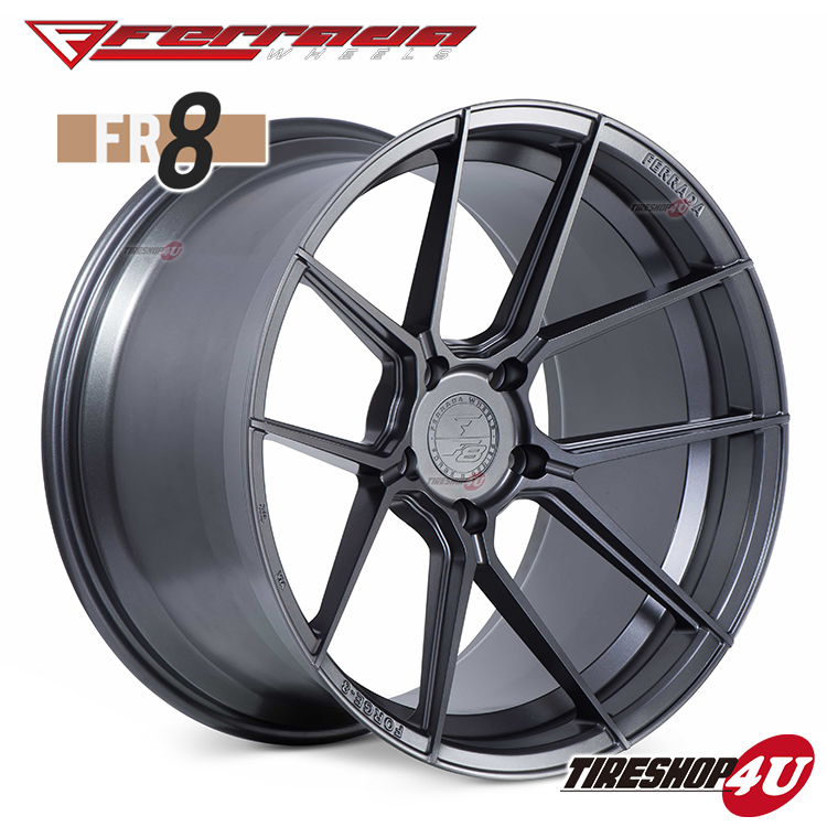 20インチ Ferrada wheels Forge-8 FR8 20×9.0JPCD:5/112・5/114.3・5/120・5/130 color:マットグラファイト 新品アルミホイール単品1本価格 フェラーダホイールズ コンケーブ