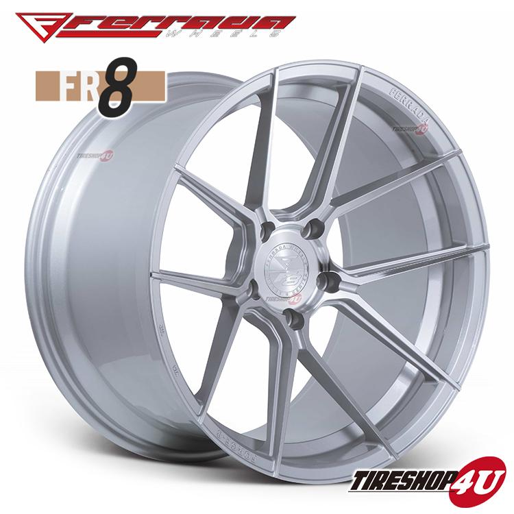 20インチ Ferrada wheels Forge-8 FR8 20×9.0JPCD:5/112・5/114.3・5/120・5/130 color:マシンシルバー 新品アルミホイール単品1本価格 フェラーダホイールズ コンケーブ