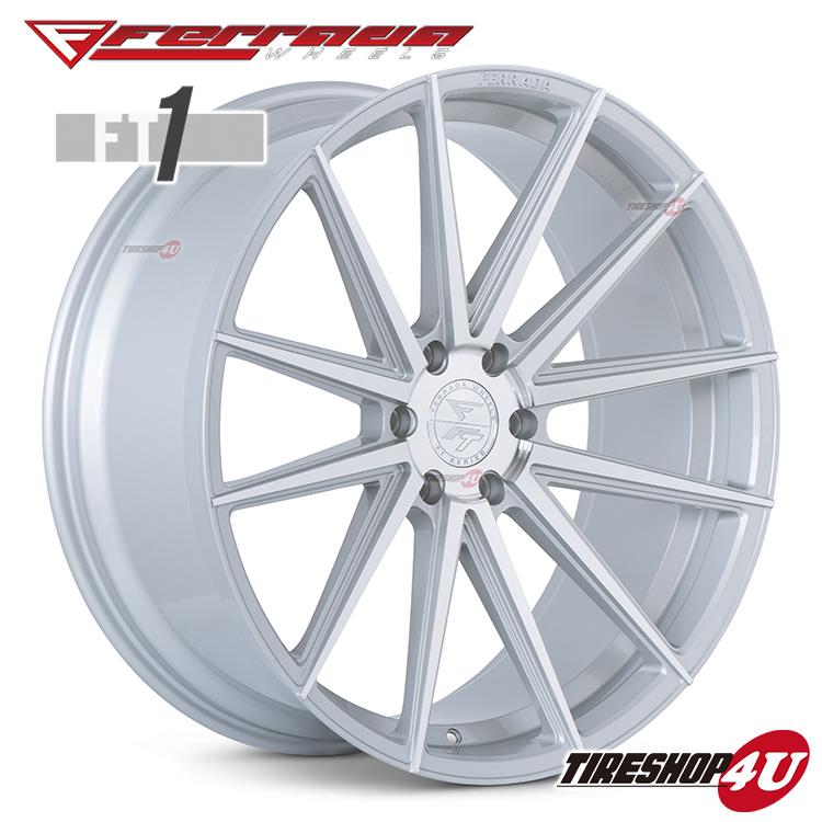 24インチ Ferrada wheels FT1 24×10.0JPCD:6/139.7・6/135 color:マシンシルバー 新品アルミホイール単品1本価格 フェラーダホイールズ コンケーブ