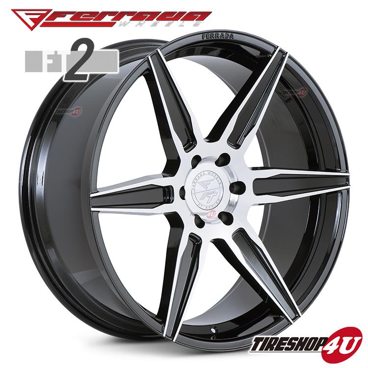 22インチ Ferrada wheels FT2 22×9.5JPCD:6/139.7・6/135・5/139.7・5/150 color:マシンブラック 新品アルミホイール単品1本価格 フェラーダホイールズ コンケーブ