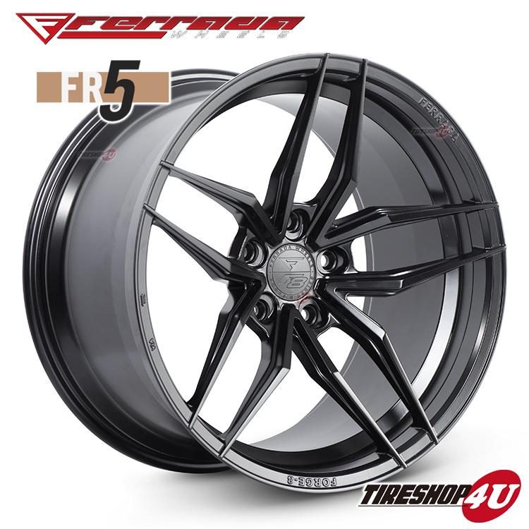 20インチ Ferrada wheels Forge-8 FR5 20×10.0JPCD:5/112・5/114.3・5/120・5/130 color:マットブラック 新品アルミホイール単品1本価格 フェラーダホイールズ コンケーブ