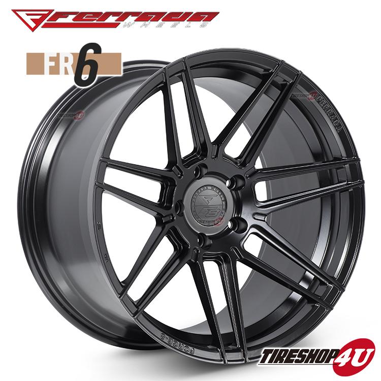 20インチ Ferrada wheels Forge-8 FR6 20×10.5JPCD:5/112・5/114.3・5/120・5/130 color:マットブラック 新品アルミホイール単品1本価格 フェラーダホイールズ コンケーブ