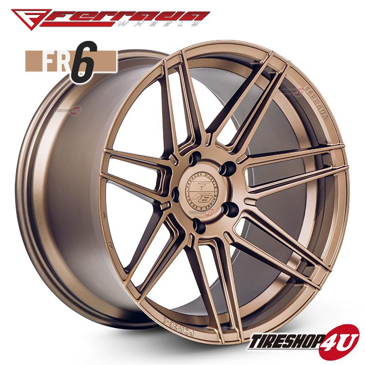 20インチ Ferrada wheels Forge-8 FR6 20×11.5JPCD:5/112・5/114.3・5/120・5/130 color:マットブロンズ 新品アルミホイール単品1本価格 フェラーダホイールズ コンケーブ