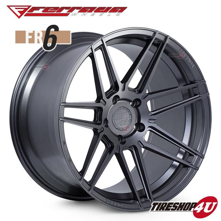 20インチ Ferrada wheels Forge-8 FR6 20×10.5JPCD:5/112・5/114.3・5/120・5/130 color:マットグラファイト 新品アルミホイール単品1本価格 フェラーダホイールズ コンケーブ