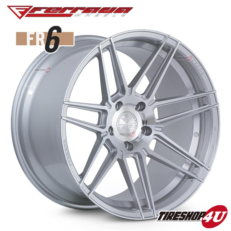 20インチ Ferrada wheels Forge-8 FR6 20×10.5JPCD:5/112・5/114.3・5/120・5/130 color:マシンシルバー 新品アルミホイール単品1本価格 フェラーダホイールズ コンケーブ