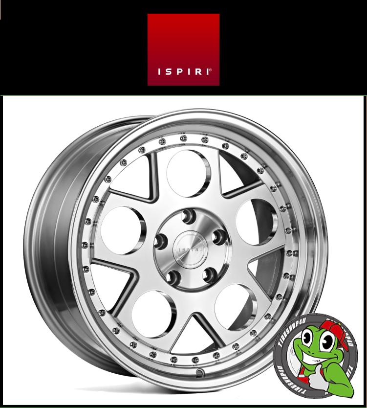 19インチIspiri Wheel CSR4 19×9.5J 5/112 +32 HUB:66.56φSilver Machined(シルバーマシンド) 1995 イスピリホイール 新品アルミホイール1本価格 正規輸入品JWL適合品 スタンス Audi A5