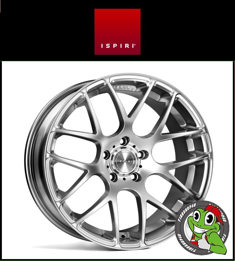 20インチIspiri Wheel ISR1 20×8.5J 5/112 +35 HUB:66.56φDiamond Silver(ダイヤモンドシルバー) 2085 イスピリホイール 新品アルミホイール1本価格 正規輸入品JWL適合品 スタンス VW ゴルフ5~7、Audi A4、A5