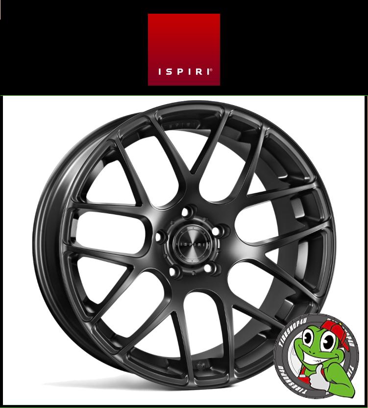 20インチIspiri Wheel ISR1 20×8.5J 5/120 +20 HUB:72.56φ/74.1φMatte Black(マットブラック) 2085 イスピリホイール 新品アルミホイール1本価格 正規輸入品JWL適合品 スタンス BMW E60/61