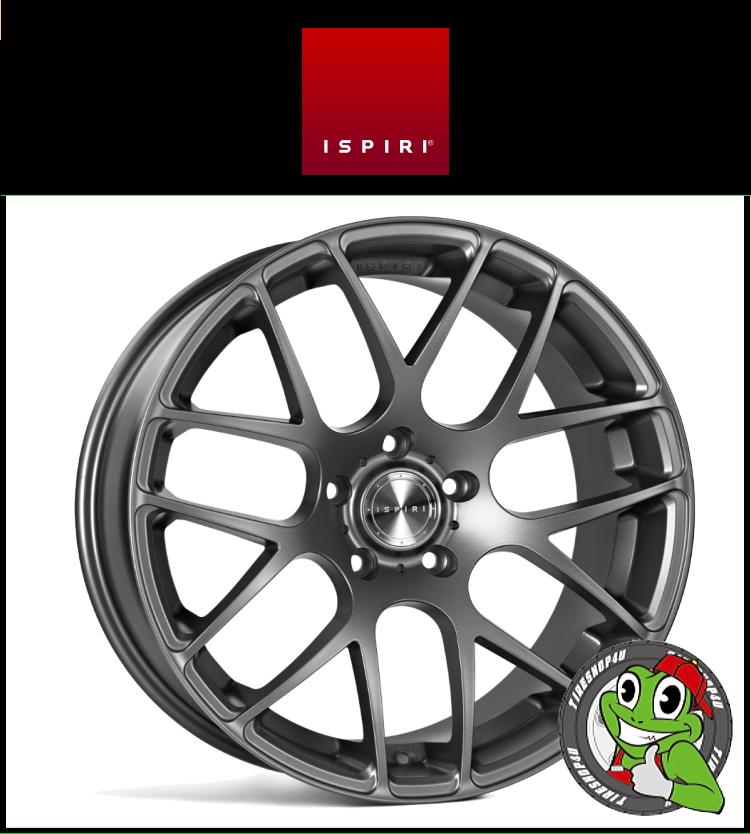 20インチIspiri Wheel ISR1 20×10.0J 5/120 +22 HUB:72.56φ/74.1φMatte Graphite(マットグラファイト) 20100 イスピリホイール 新品アルミホイール1本価格 正規輸入品JWL適合品 スタンス BMW E60/61