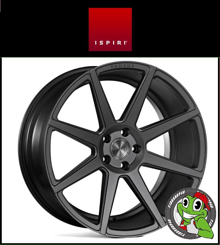 20インチIspiri Wheel ISR8 20×8.5J 5/120 +35 HUB:76.56φSatin Graphite(サテングラファイト) 2085 イスピリホイール 新品アルミホイール1本価格 正規輸入品JWL適合品 スタンス BMW E90/F30