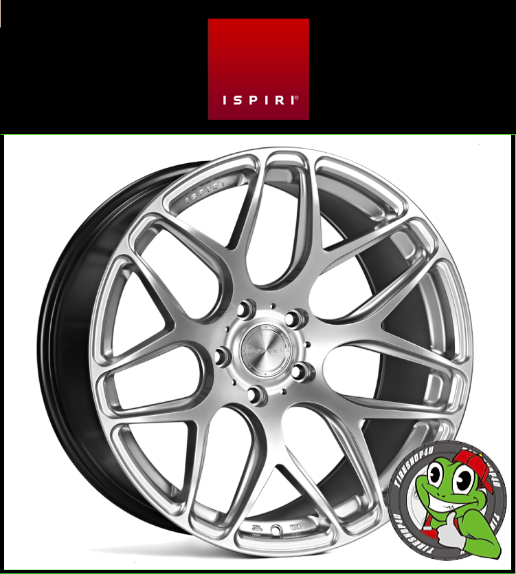 20インチIspiri Wheel ISR10 20×10.0J 5/120 +35 HUB:72.56φ/74.1φDiamond Silver(ダイヤモンドシルバー) 20100 イスピリホイール 新品アルミホイール1本価格 正規輸入品JWL適合品 スタンス BMW E90/E91/F10/F11