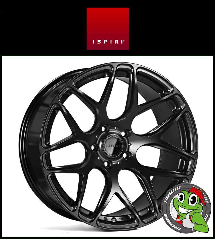 19インチIspiri Wheel ISR10 19×9.5J 5/120 +33 HUB:72.56φ/74.1φMatte Black(マットブラック) 1995 イスピリホイール 新品アルミホイール1本価格 正規輸入品JWL適合品 スタンス BMW E90/91/92