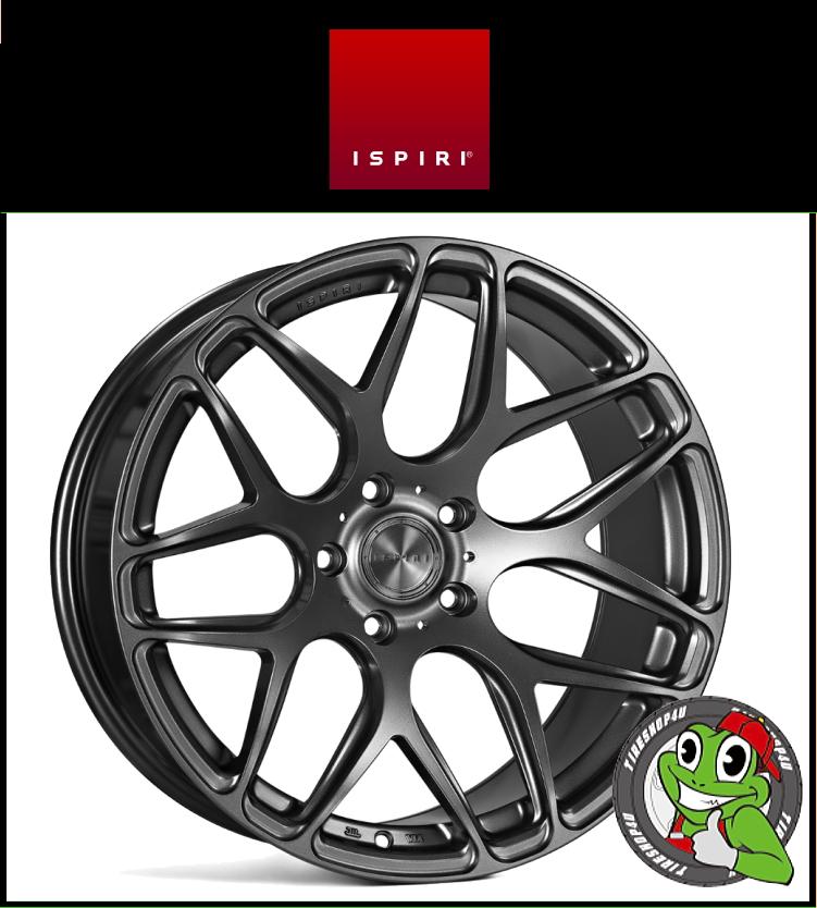 19インチIspiri Wheel ISR10 19×9.5J 5/112 +35 HUB:66.56φMatte Graphite(マットグラファイト) 1995 イスピリホイール 新品アルミホイール1本価格 正規輸入品JWL適合品 スタンス ベンツ W210(リア)、Audi A4