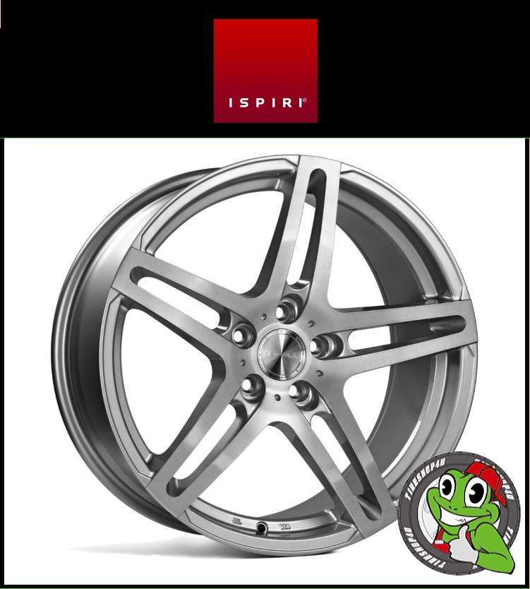 20インチIspiri Wheel ISR12 20×10.0J 5/120 +45 HUB:72.56φ/74.1φSilver Brushed(シルバーブラッシュド) 20100 イスピリホイール 新品アルミホイール1本価格 正規輸入品JWL適合品 スタンス BMW F10/F30
