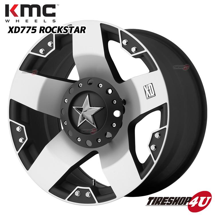 20インチKMC XD775 ROCKSTAR ロックスター マットブラック/マシンドヨコハマ ジオランダーA/T-S 275/55R20 FJクルーザー タイヤ付4本SET