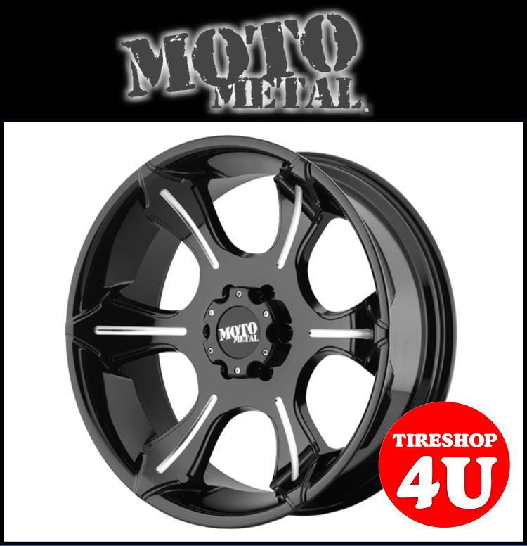 20インチMOTOMETAL MO965 20×9.0J 6/139.7 +18GROSS BLACK/MILLED モトメタル FJクルーザー プラド(120・150) ハイラックスサーフ タコマ 新品アルミホイール1本価格