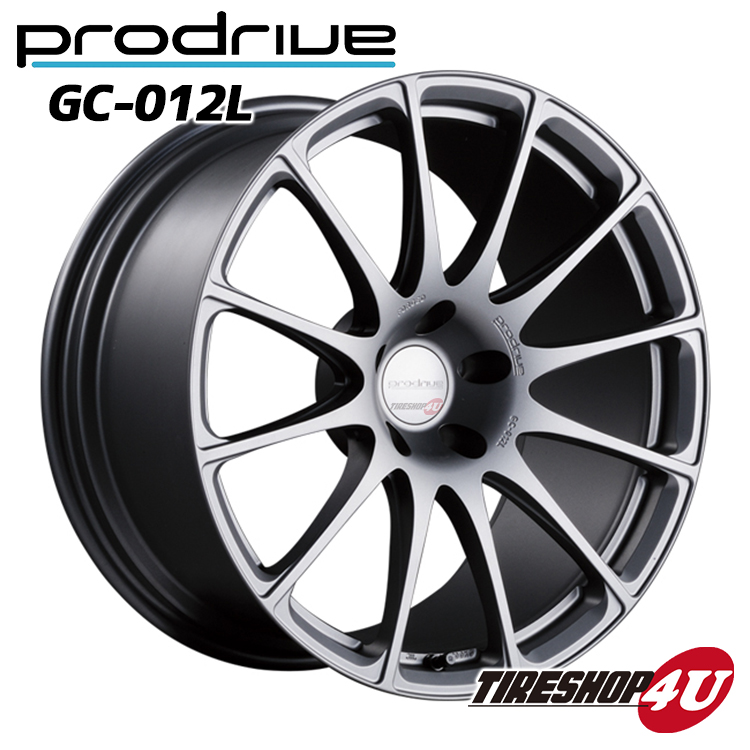 1台分4本購入で送料無料 代引き不可 19インチProdrive GC-012L 19×8.5J 5/100 +48 BB(ブリティッシュブラック) FACE 1/DISK L2 鍛造 プロドライブ GC012K 新品アルミホイール1本価格 国産車用