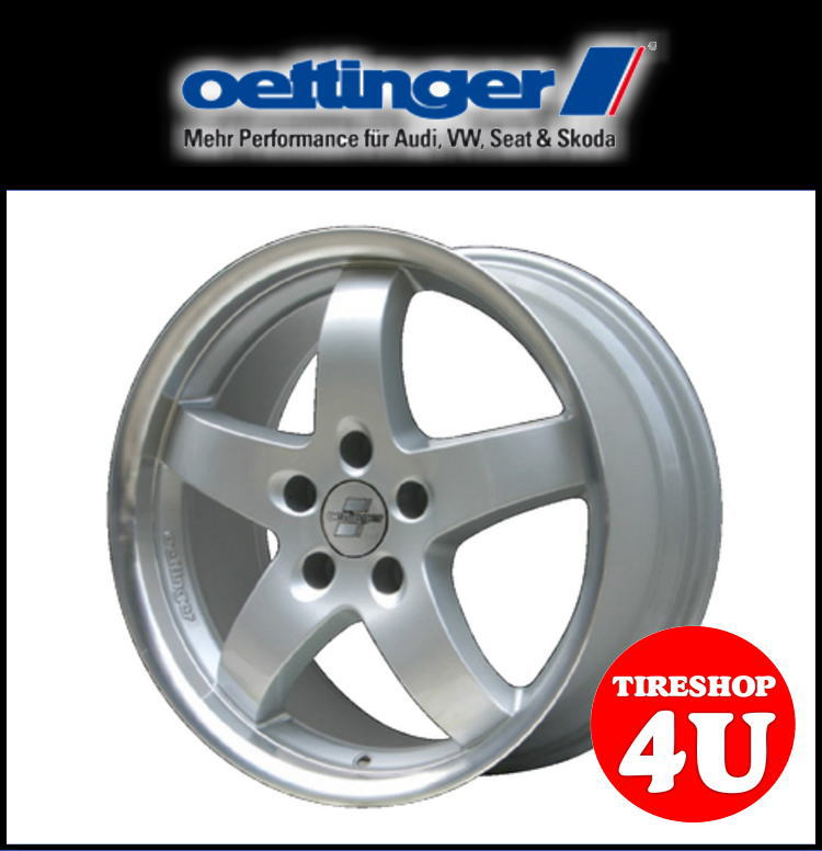 新品アルミホイール1本価格 16インチoettinger RE2(エッティンガー RE2) 16×6.5J 5/112 +47 HUB:66.6φ※57.1Φハブリング付属シルバー 純正ボルト対応 VW ゴルフ5・6 トゥーラン パサート