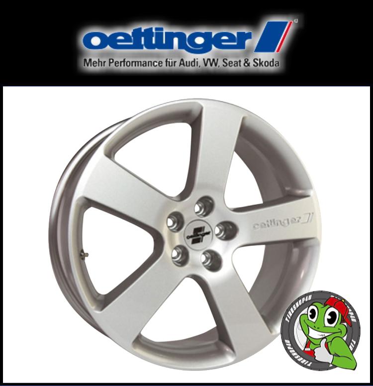 新品アルミホイール1本価格 17インチOettinger RX 17×8.0J 5/112 +39 HUB:66.6φ13R座 シルバー エッティンガー RX Audi/VW