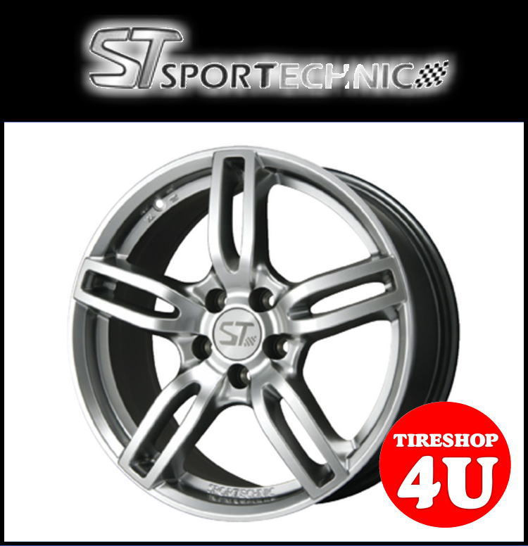 新品アルミホイール1本価格 18インチSPORTTECHNIC MONO5 VISION 18×8.0J 5/120 +35 HUB:72.6φテーパー座 クロームシルバー スポーツテクニック モノ5ヴィジョン BMW
