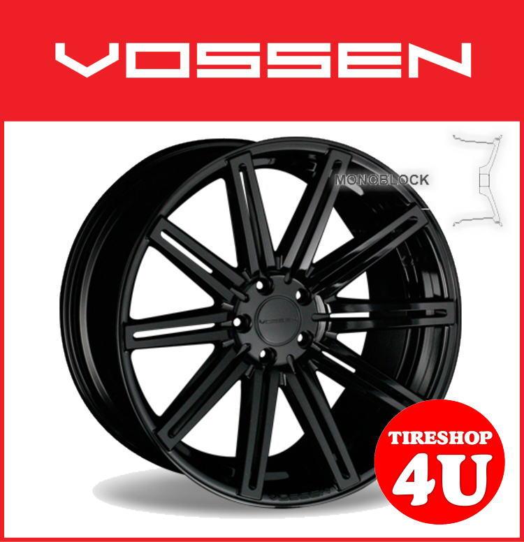 22インチホイール単品VOSSEN VVS CV4 22×10.5J 5/120 +38 グロスブラック(GB)逆反り コンケイブ ヴォッセ 新品アルミホイール1本価格コンケーブ