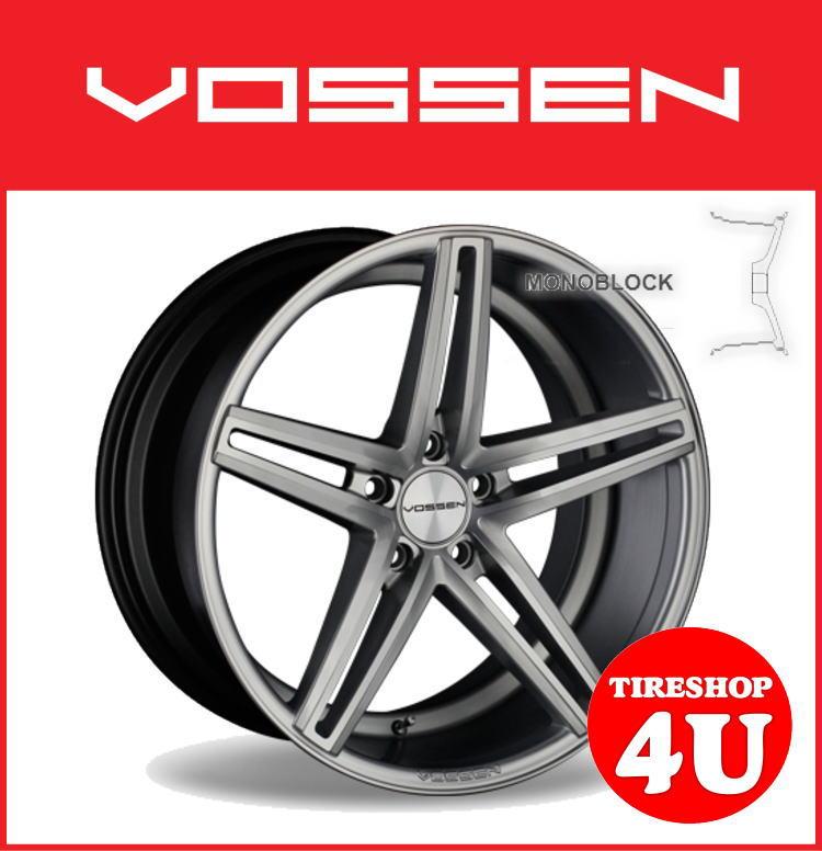 20インチホイール単品VOSSEN VVS CV5 20×9.0J 5/114.3 +32 シルバー逆反り コンケイブ ヴォッセ 新品アルミホイール1本価格