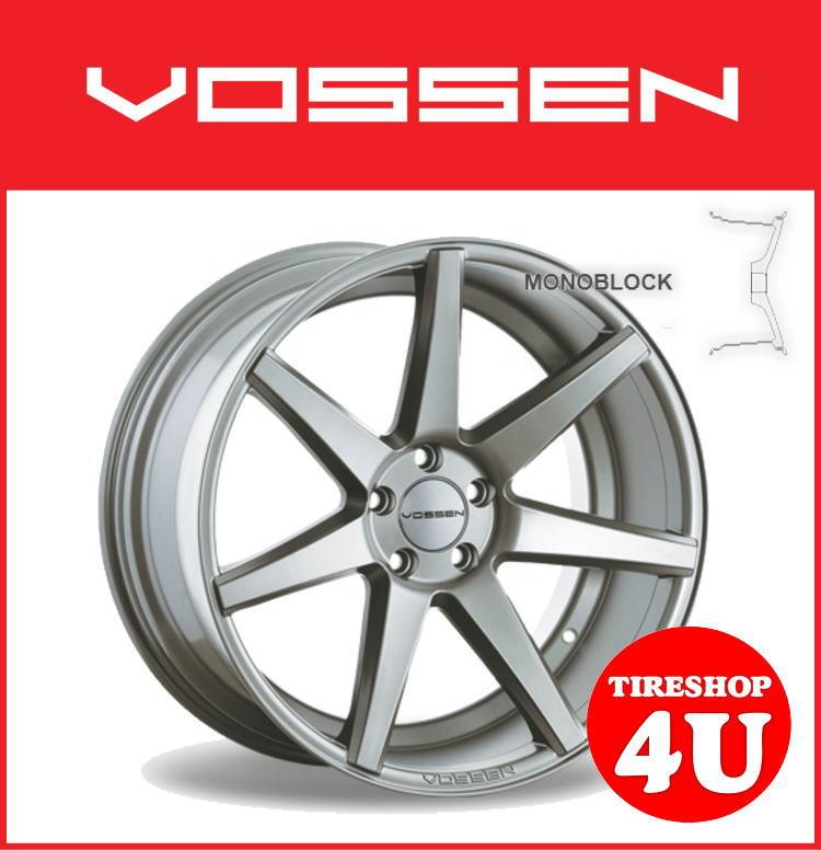 22インチホイール単品VOSSEN VVS CV7 22×9.0J 5/112 +32 シルバー(SL)逆反り コンケイブ ヴォッセ 新品アルミホイール1本価格コンケーブ