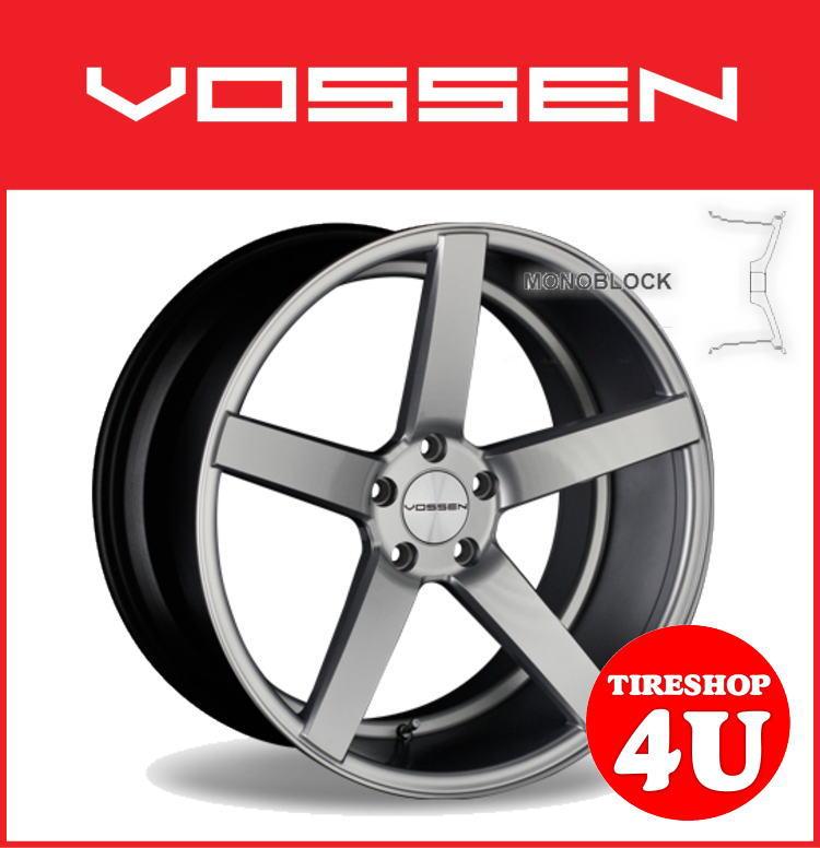 22インチVOSSEN ヴォッセ VVS CV3 22×9.0J シルバーメルセデスベンツ MLクラス W164 新品タイヤホイール4本セット 逆反り コンケイブ