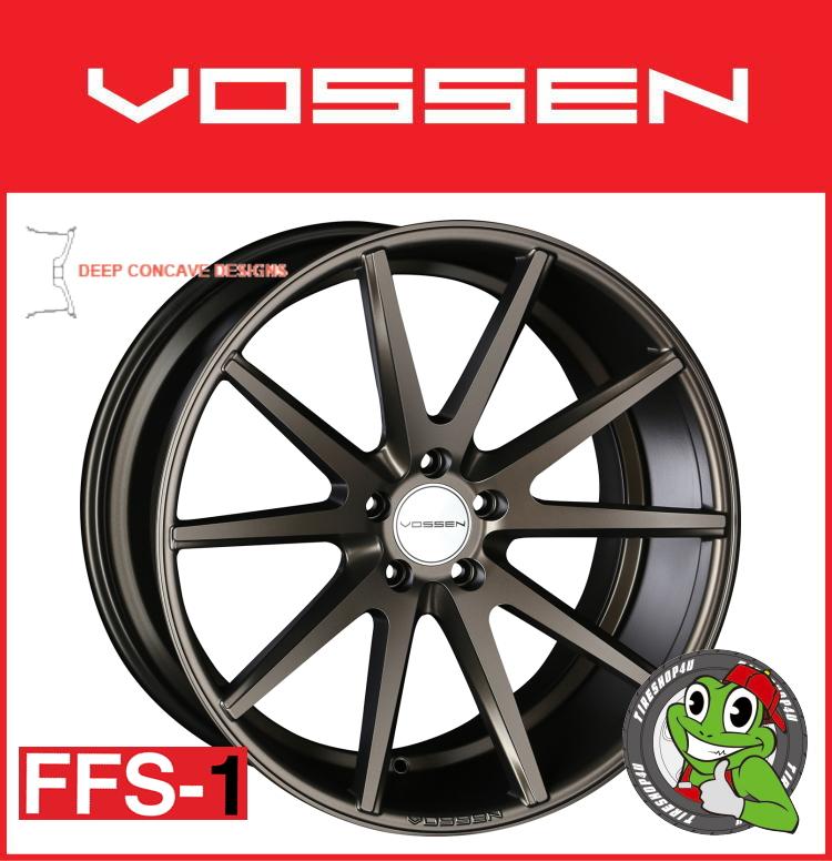 19インチホイール単品VOSSEN VFS-1 19×8.5J 5/130 +45 アンティークブロンズ(ABZ)フローフォーミング製法 FLAT FACE 逆反り コンケイブ コンケーブ ヴォッセ 新品アルミホイール1本価格