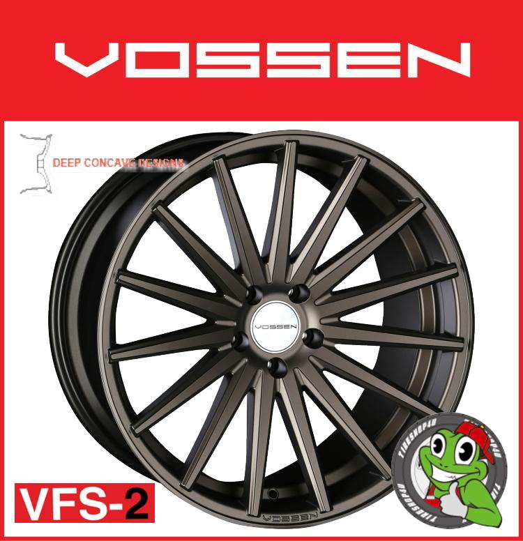 21インチホイール単品VOSSEN VFS-2 21×12.0J 5/120 +25 アンティークブロンズ(ABZ)フローフォーミング製法 MID FACE 逆反り コンケイブ コンケーブ ヴォッセ 新品アルミホイール1本価格