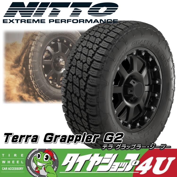 新品ラジアルタイヤ単品 NITTO TERRA GRAPPLER G2 285/75R17インチサマータイヤ 『タイヤショップフォーユー』『オールシーズン』テラグラップラージーツー USA直輸入