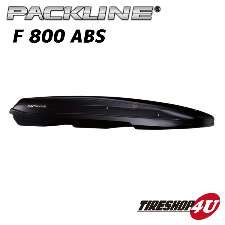 PACKLINE(パックライン) F 800 ABSルーフボックス ノルウェーブランド マットブラック容量:430L スキー/スノーボード フィッシング アウトドア ジェットバック 収納 正規品 代引き不可