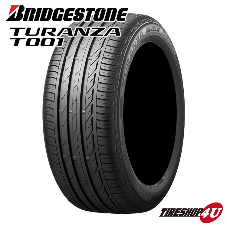 取付対象 送料無料 ブリヂストン トランザ T001 225/55R18 BMW承認タイヤ ラジアルタイヤ サマータイヤ 単品 TURANZA BRIDGESTONE 225/55-18