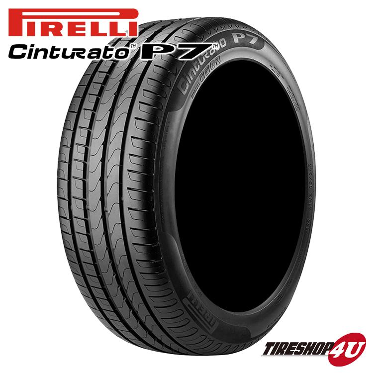 新品 タイヤ PIRELLI CINTURATO P7 255/40R18 95V r-f ☆ ピレリ チンチュラート ピーセブン 単品価格 BMW承認タイヤ ランフラット 255/40-18