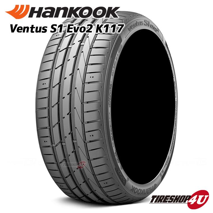お値打ち価格で 返品送料無料 2018年製 HANKOOK VENTUS S1 evo2 K117 225 35R19 送料無料 35-19 ハンコック V12 新品 タイヤ ベンタス 単品 サマータイヤ ラジアルタイヤ
