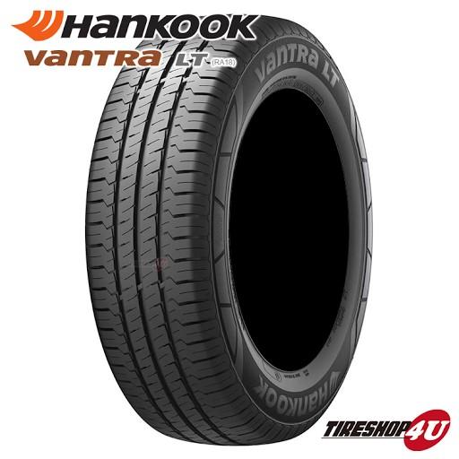送料無料 新品 HANKOOK Vantra LT RA18 195/80R15 107/105R 8PR サマータイヤ ラジアルタイヤ バン用 1本価格 ハンコック バントラ ハイエース キャラバン 195/80-15