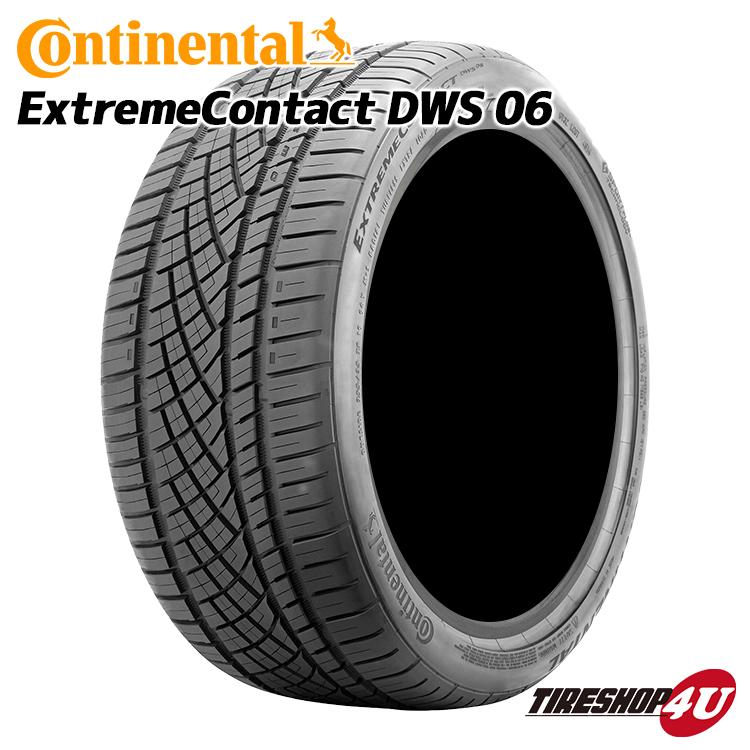 Continental (コンチネンタル) Extreme Contact DWS 06 (エクストリーム コンタクト) 295/25R22 295/25-22 送料無料 サマータイヤ 夏タイヤ 1本価格 22インチ 97Y