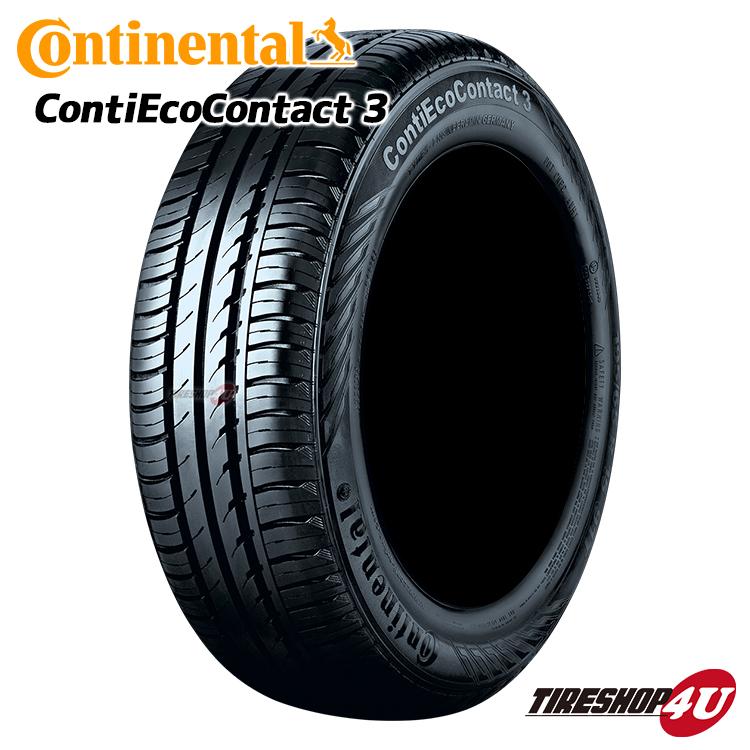 新品 Continental ContiEcoContact3 175/55R15 サマータイヤ コンチネンタル エココンタクト3//ラジアルタイヤ単品『シーイーシー3』CEC3