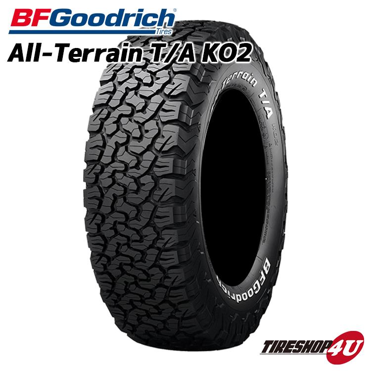 送料無料 新品 タイヤ BFグッドリッチ 285/55R20 All-Terrain T/A KO2 RBL ブラックレター サマータイヤ オールテレーン 単品 BF Goodrich BFG