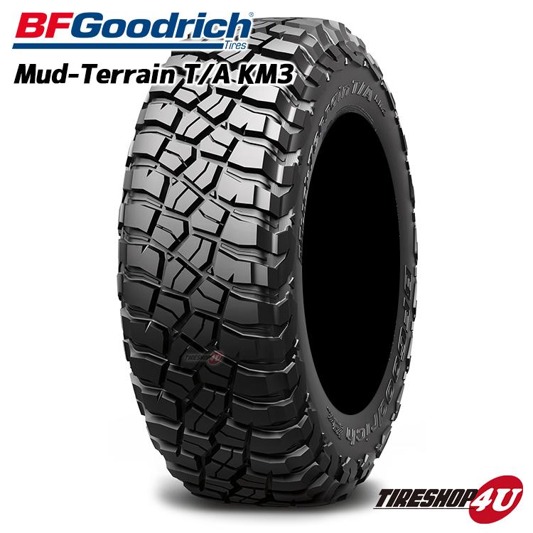送料無料 新品 タイヤ BFグッドリッチ 35x12.50R20 Mud-Terrain T/A KM3 RBL ブラックレター サマータイヤ マッドテレーン 単品 BF Goodrich BFG 35x12.50-20
